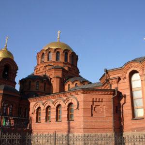 Новосибирск. Собор во имя Александра Невского
