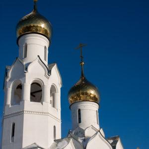 Новосибирск. Храм во имя Архистратига Михаила