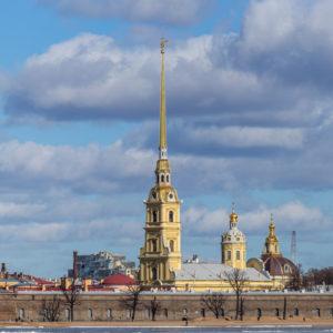 Санкт-Петербург. Собор Петра и Павла в Петропавловской крепости