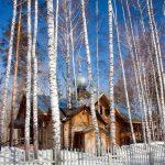 Новосибирск. Храм всех святых в земле Российской просиявших