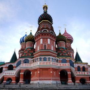Москва. Храм Покрова Богородицы на Рву (Василия Блаженного)