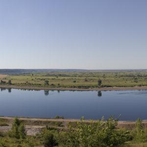 Томск. Река Томь