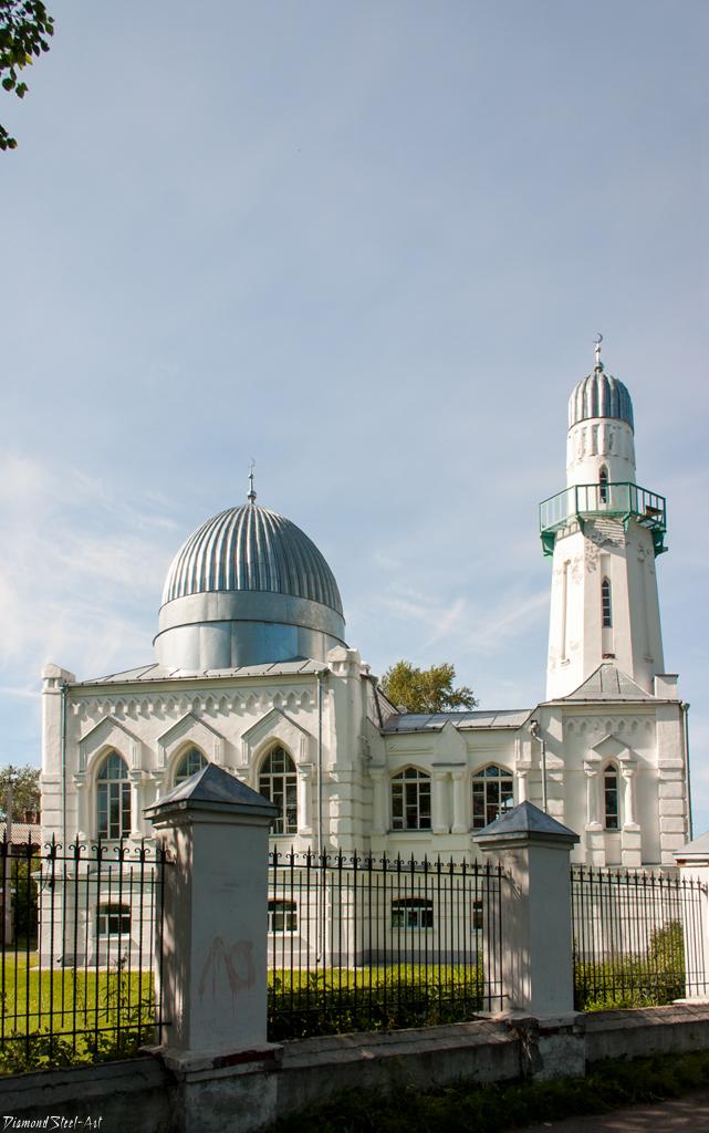 Томск. Белая Соборная мечеть