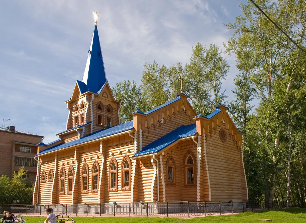 Томск. Евангелическо-лютеранская церковь Святой Марии