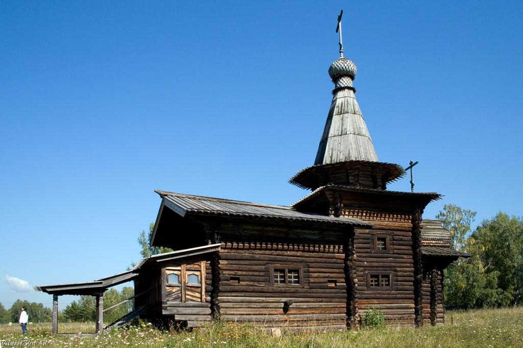 Новосибирск. Спасо-Зашиверская церковь
