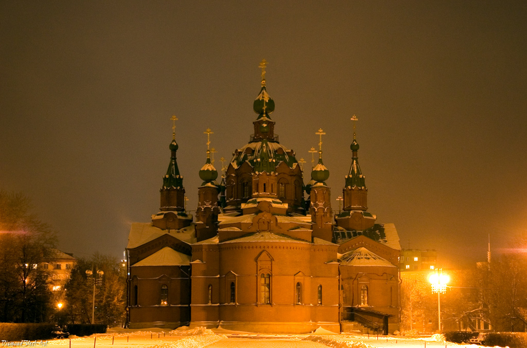 Челябинск. Церковь Александра Невского