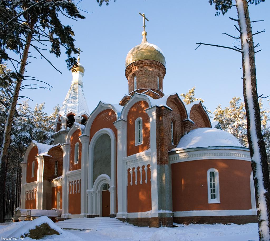 Новосибирск. Храм в честь Святой Троицы