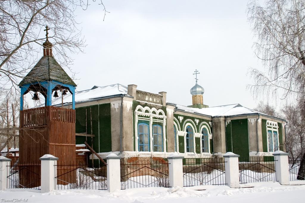 Панкрушиха. Свято-Ильинский храм