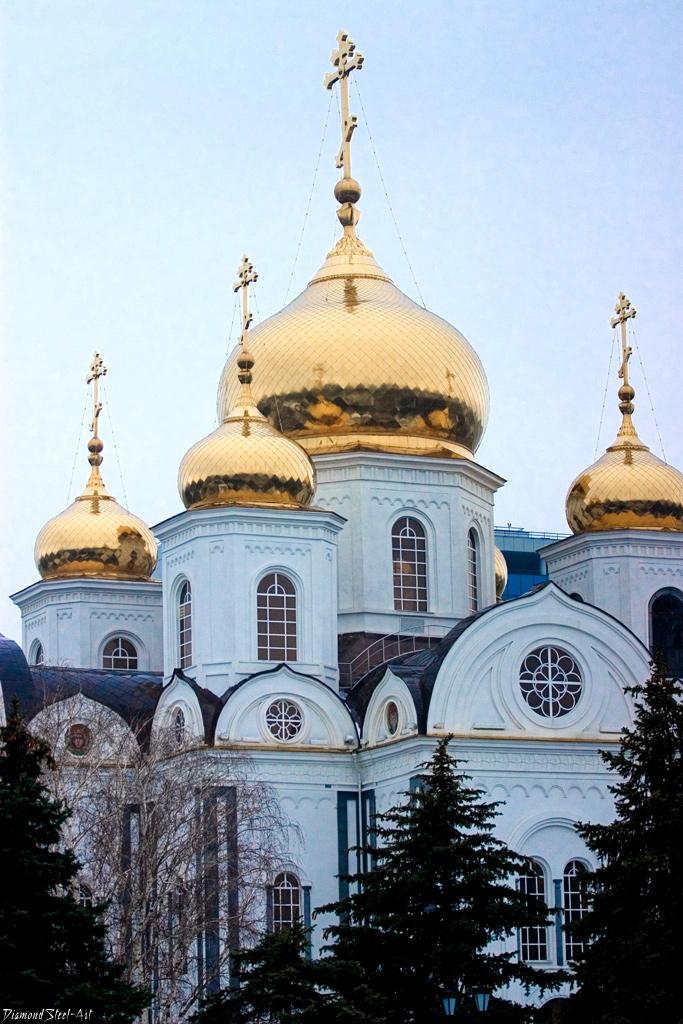 Краснодар. Войсковой собор святого благоверного князя Александра Невского