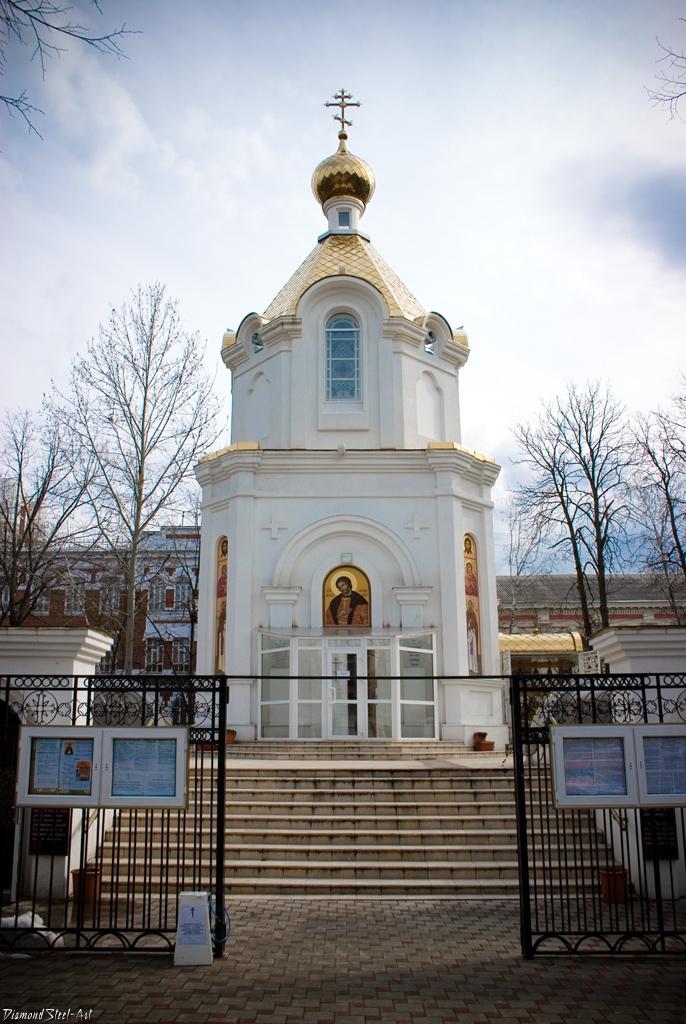 Краснодар. Храм-часовня святого благоверного великого князя Александра Невского