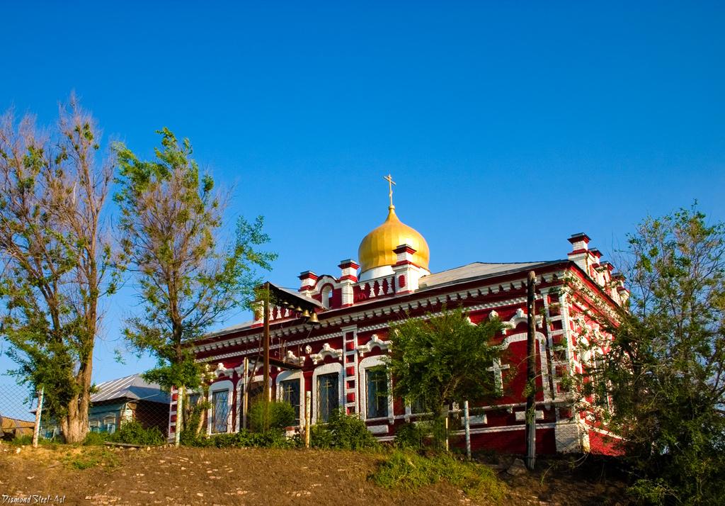 Елшанка. Храм во имя святых Новомучеников и Исповедников Российских
