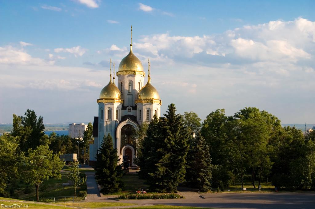Волгоград. Храм Всех Святых, в земле Российской просиявших