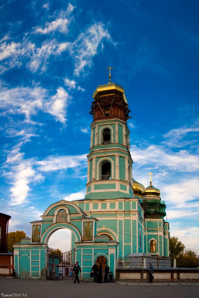 Пермь. Кафедральный собор Троицы Живоначальной (Слудская церковь)
