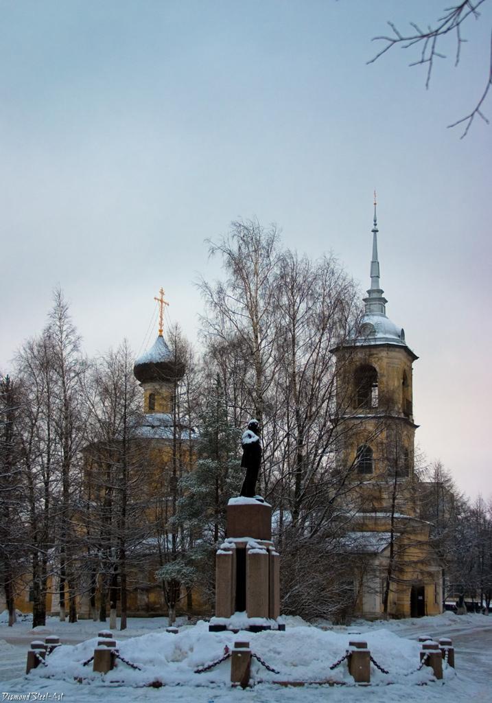 Вологда. Церковь Иоанна Предтечи в Рощенье
