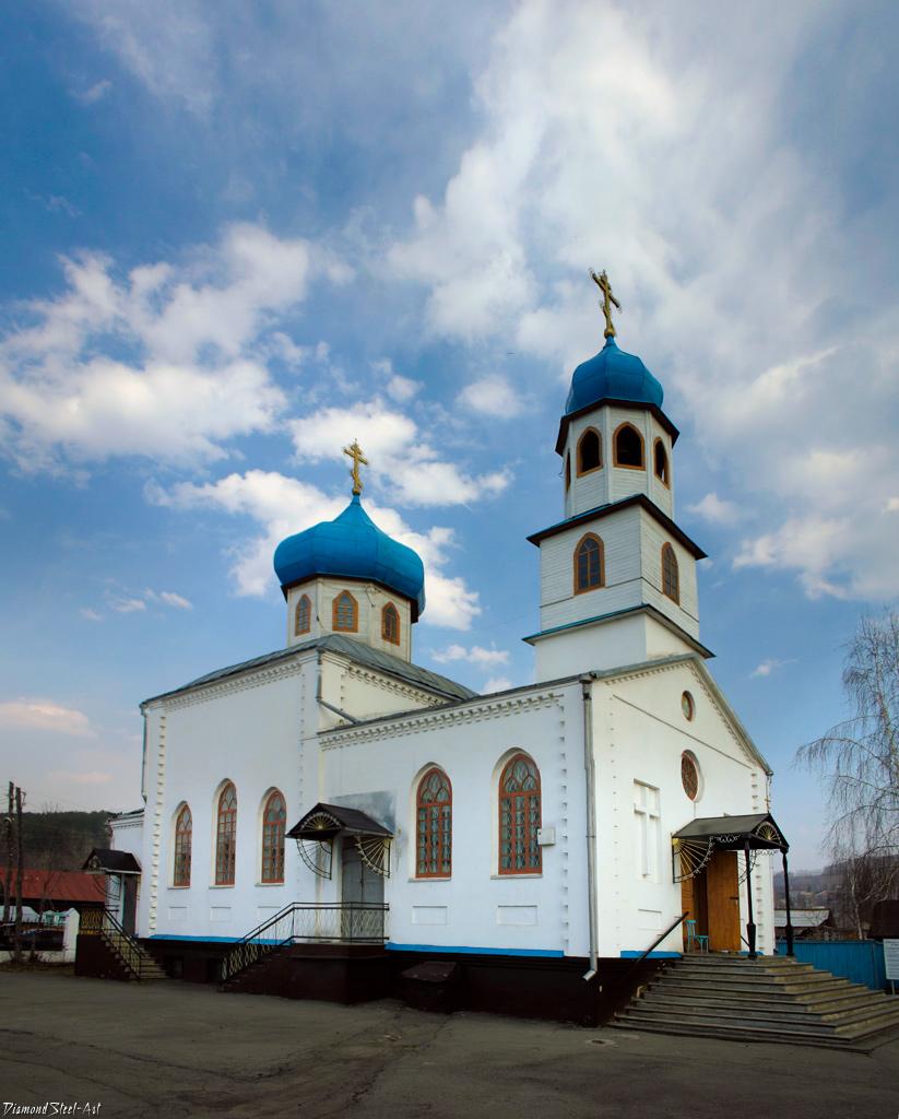 Горно-Алтайск. Храм Преображения Господня