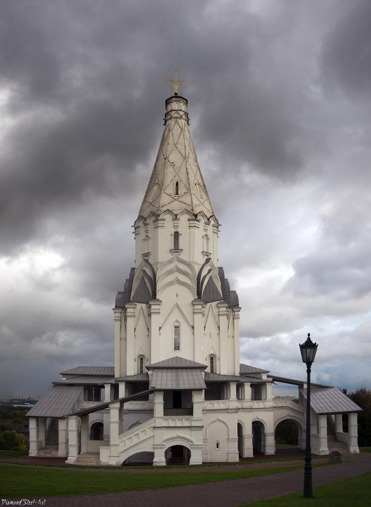 Москва. Церковь Вознесения Господня в Коломенском