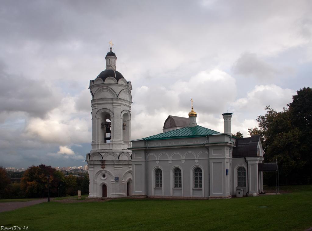 Москва. Церковь Георгия Победоносца в Коломенском