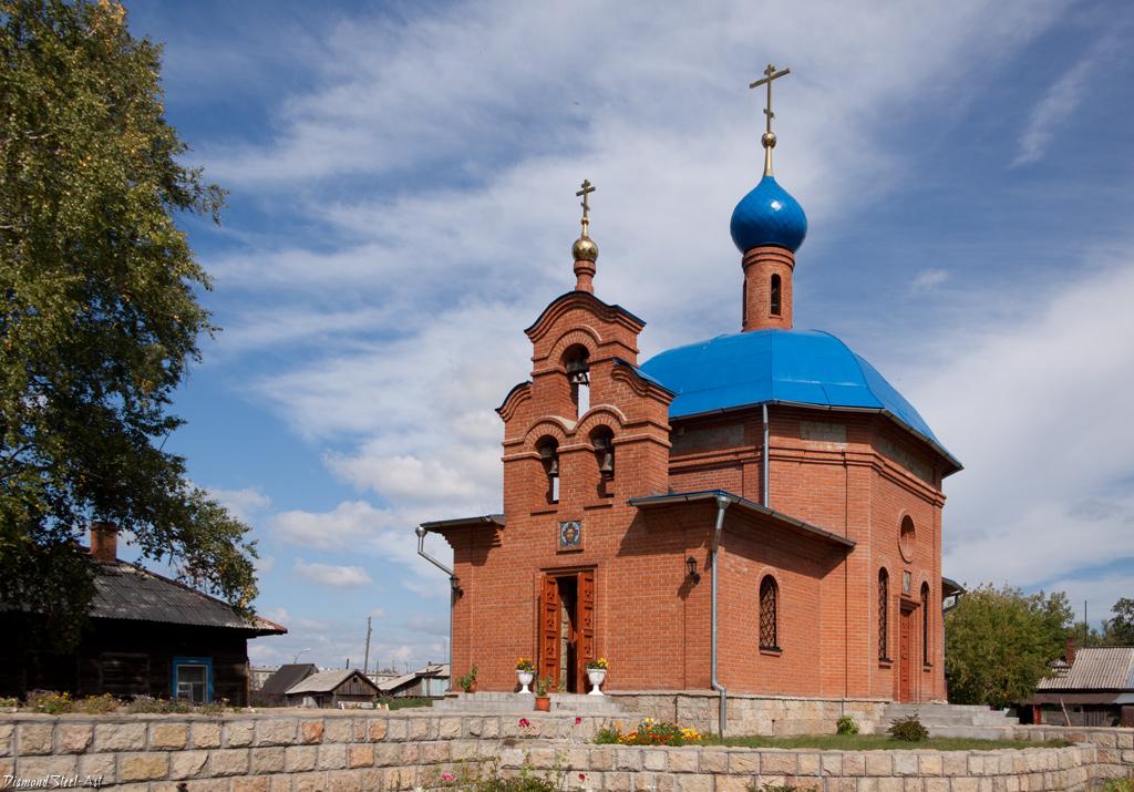 Мошково. Церковь в честь святого Алексия, человека Божия