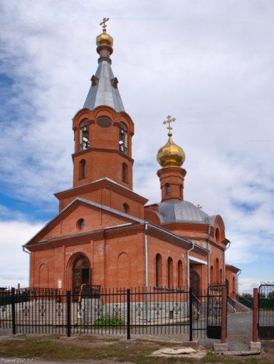 Юрга. Церковь Четырнадцати тысяч младенцев, от Ирода изб
