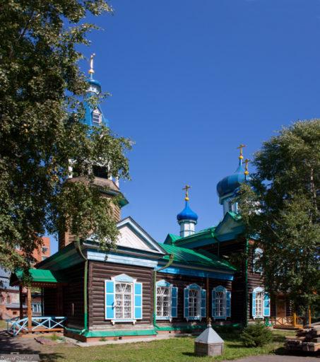 Томск. Старообрядческий храм во имя Успения Пресвятой Богородицы