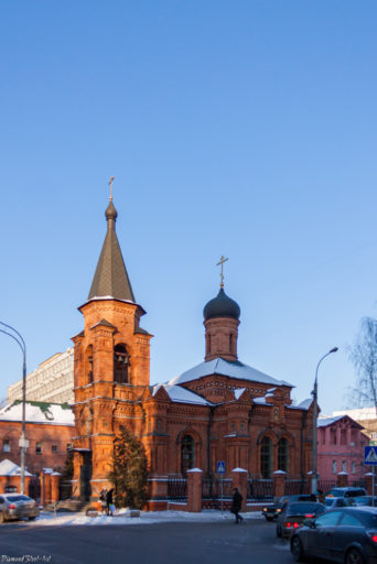 Москва. Церковь Митрофана Воронежского