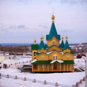 Горный. Православный приход в честь Рождества Христова