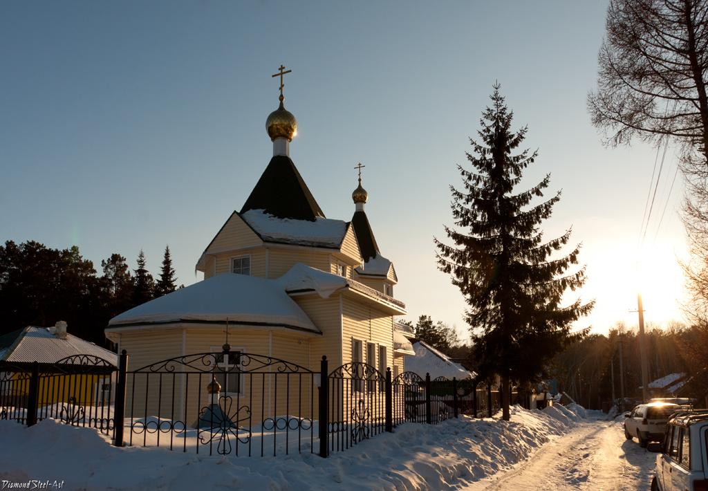 Новосибирск. Церковь Митрофания, епископа Воронежского