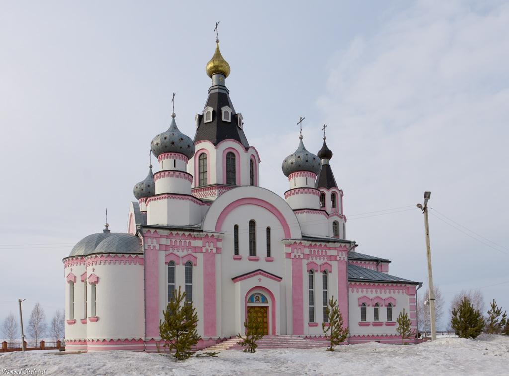 Юрга. Церковь Рождества Иоанна Предтечи