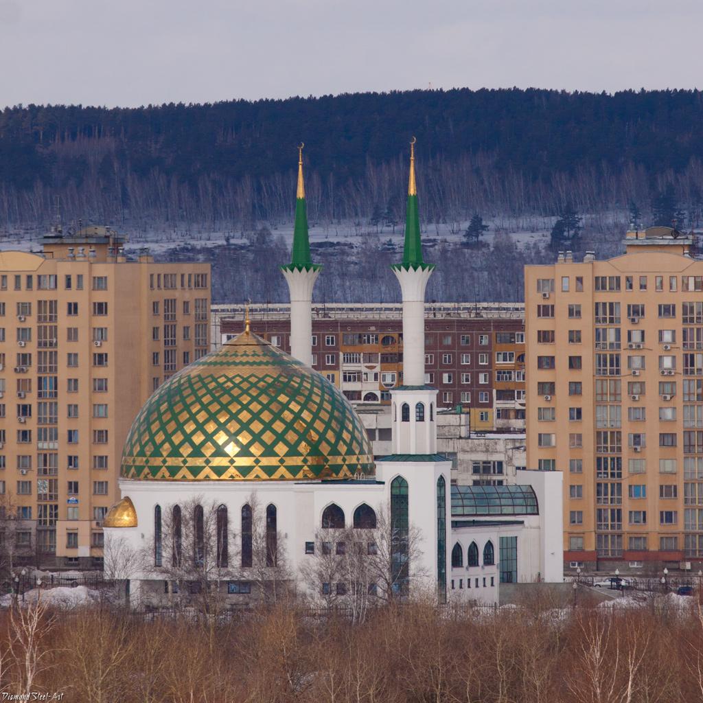 Кемерово. Мечеть Мунира