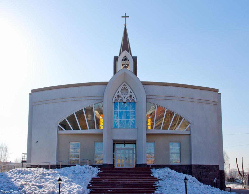 Кемерово. Приход Непорочного Сердца Пресвятой Девы Марии Римско-католической Церкви