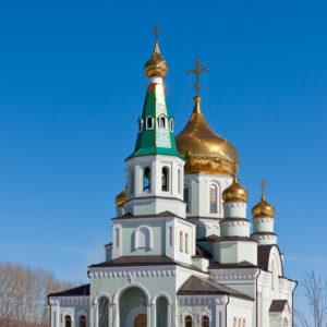 Топки. Церковь преподобного Сергия Радонежского
