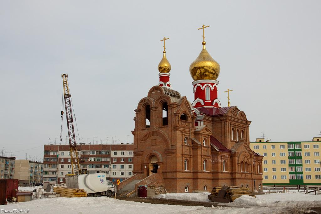 Криводановка. Церковь Рождества Иоанна Предтечи