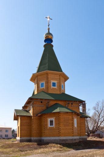 Верх-Тула. Церковь во имя Святой Троицы