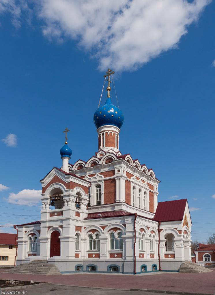 Новосибирск. Церковь Иконы Божией Матери «Утоли Моя Печали»