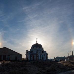 Завьялово. Церковь Покрова Пресвятой Богородицы в Покровском Завьяловском монастыре