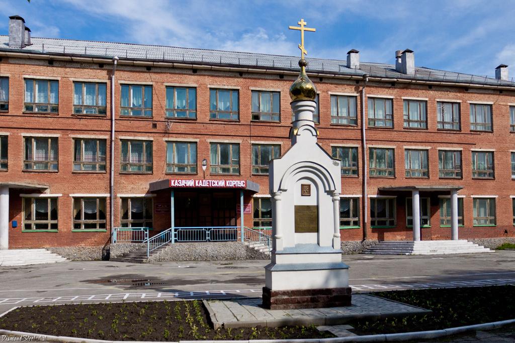 Бердск. Часовня Георгия Победоносца при Бердском кадетском корпусе
