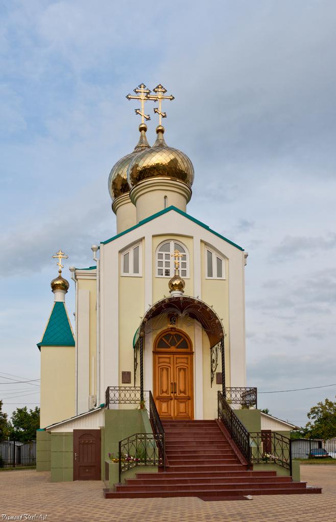Краснодар. Церковь-часовня Димитрия Донского