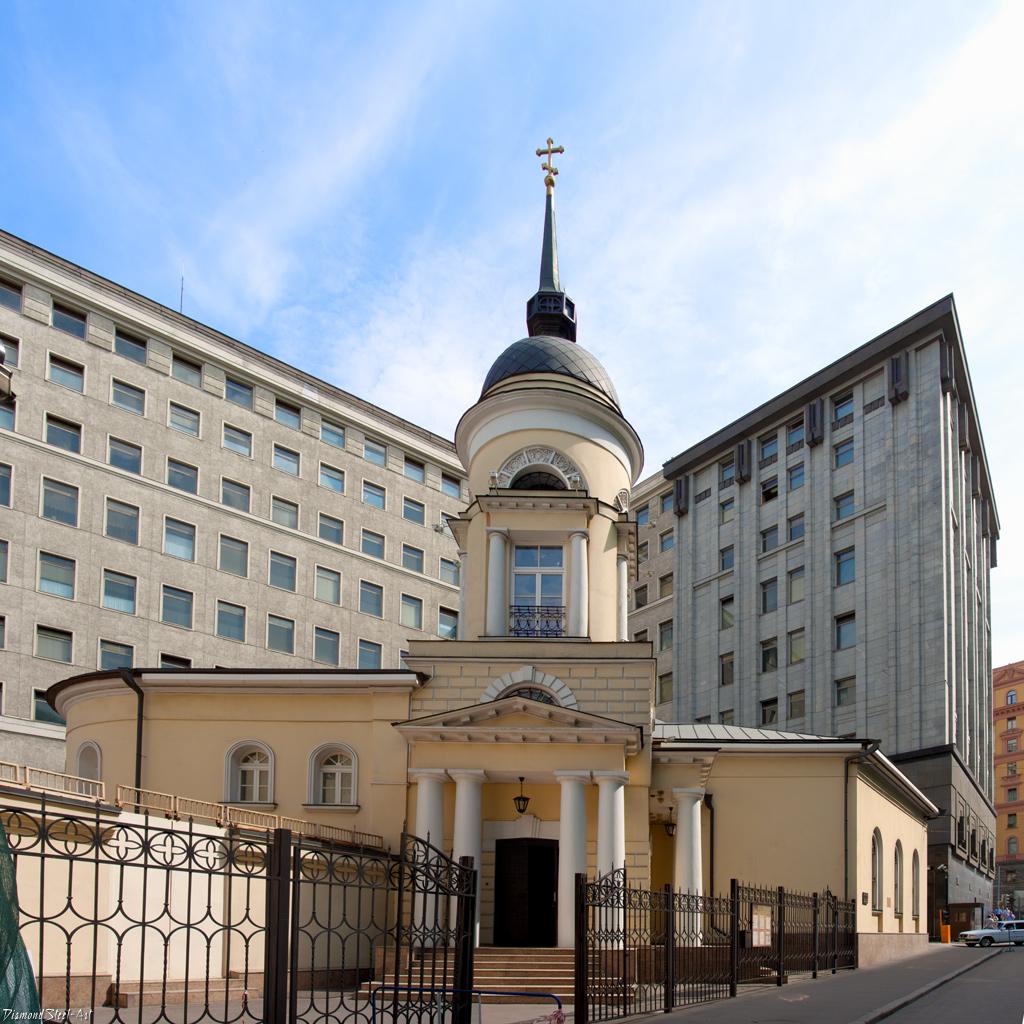 Москва. Церковь Софии Премудрости Божией на Софийке, у Пушечного двора, что на Лубянке