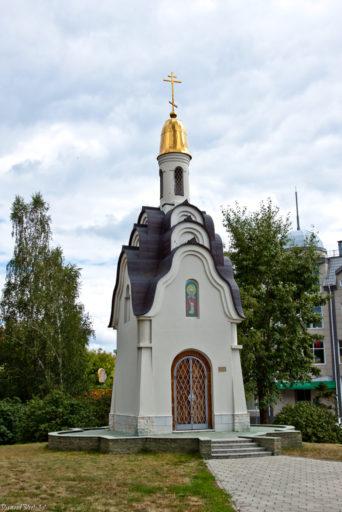 Барнаул. Часовня Святой мученицы Татьяны