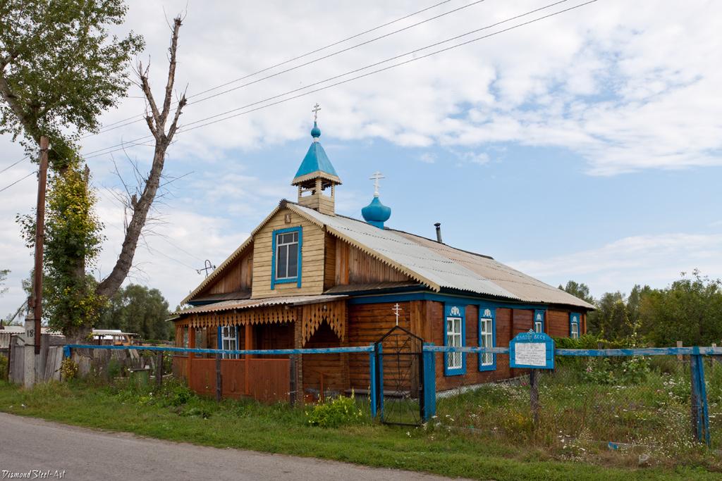 Катунское. Церковь Святого Николая Чудотворца