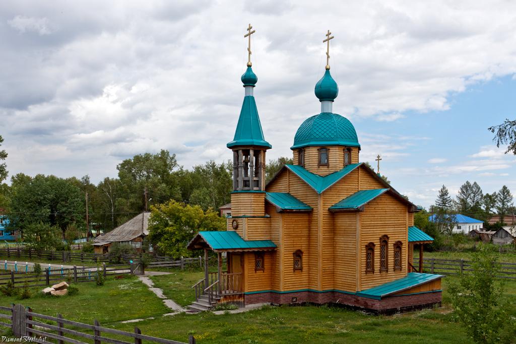 Новотырышкино. Церковь Святой мученицы Татианы