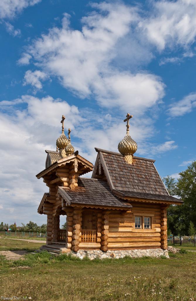 Новотырышкино. Часовня во Имя Трех Святителей – Василия Великого, Григория Богослова и Иоанна Златоуста