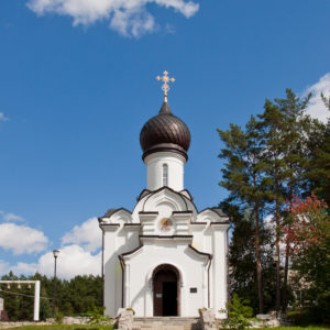 Белокуриха. Церковь в честь Святителя и Чудотворца Николая