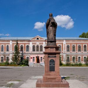 Бийск. Церковь Димитрия, митрополита Ростовского, при архиерейском доме