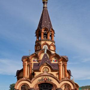 Сростки. Церковь Екатерины Великомученицы