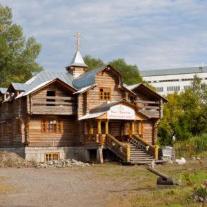 Горно-Алтайск. Приход во имя преподобного Макария Алтайского