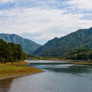 Чемальская ГЭС - Чемальское водохранилище.