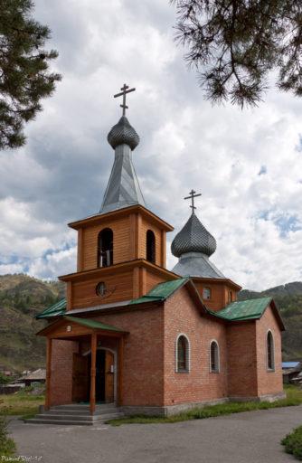 Чемал. Церковь Иконы Божией Матери Всех Скорбящих Радость