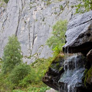 Урочище Че-Чкыш — Скалы и водопад Че-Чкыш