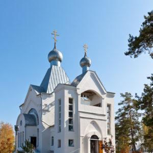 Сибирский. Церковь Варвары Великомученицы
